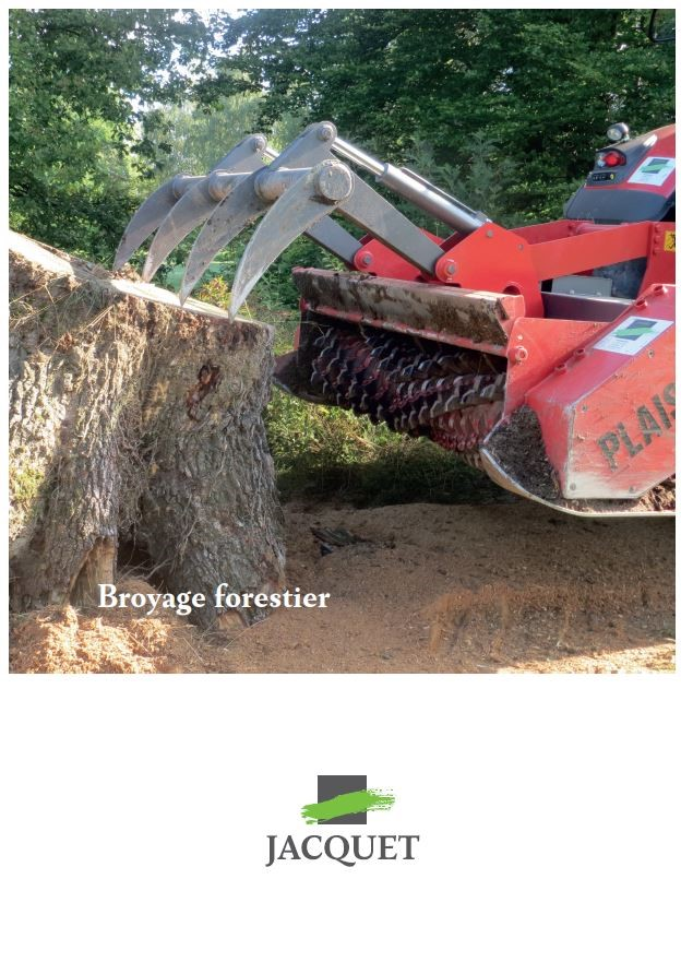 Couverture Broyage Forestier