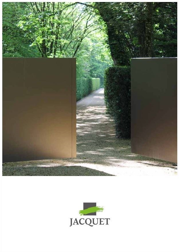 Couverture Plaquette Jardin