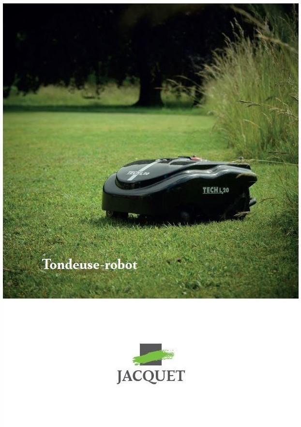 Couverture Tondeuse - Robot